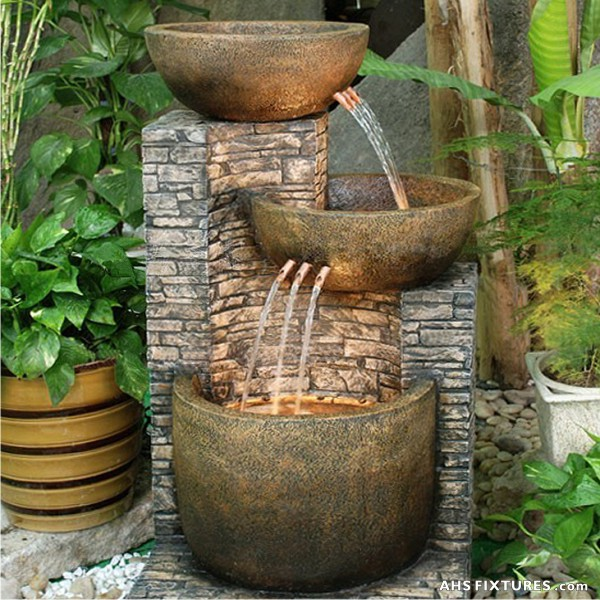 Cascading Water Fountains Outdoor.Ahs Fixtures Malaysia Wall Decoration Fountain Interior