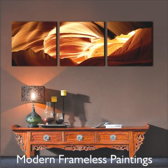 Modern Art Frameless Painting